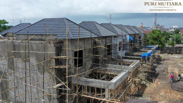 Pembangunan Puri Mutiara Extension Tahap 2 Sudah 60 %, Rumah Premium di Tengah Kota Makassar