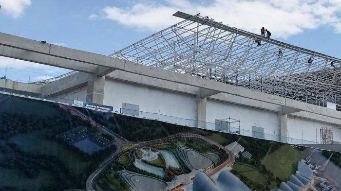 FOTO: Gunakan Anggaran Rp 3 Triliun, Paket 1 Bandara Hasanuddin Direncanakan Selesai Tahun 2021