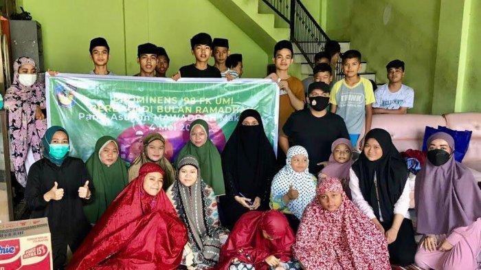 Prominens FK UMI Gelar Peduli Ramadan, Pengobatan Gratis Hingga Pembagian Sembako