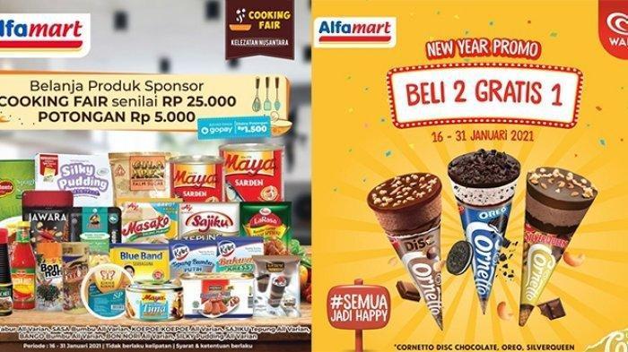 KATALOG Promo Alfamart Selasa 16 Februari 2021: Bimoli 2 Liter Turun Harga, Shampo, Beli 2 Gratis 1