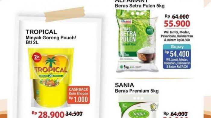 KATALOG Promo Alfamart Sabtu 11 September 2021: Beras, Minyak Goreng hingga Minuman Murah Banget