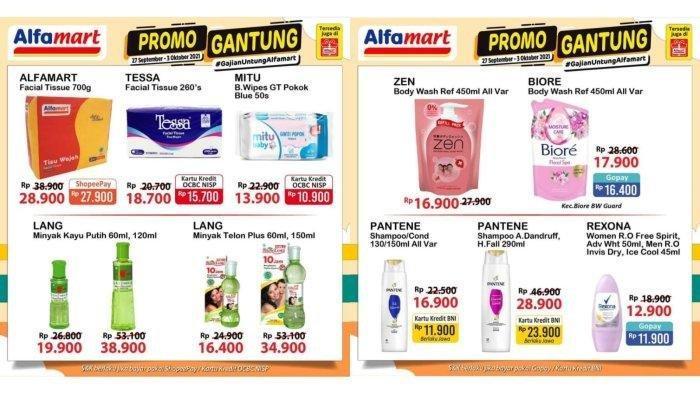 KATALOG Promo Alfamart Selasa 5 Oktober 2021: Produk Hematku Diskon 50%, Nikmati Chasback Rp 20.000