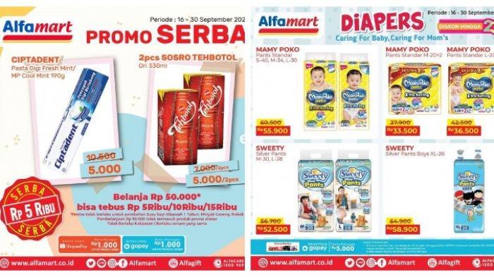 Promo Alfamart Terbaru Hari Ini 21 September 2021, Serba Rp 5.000 Ciptadent, Rp 10.000 Biskuit Regal