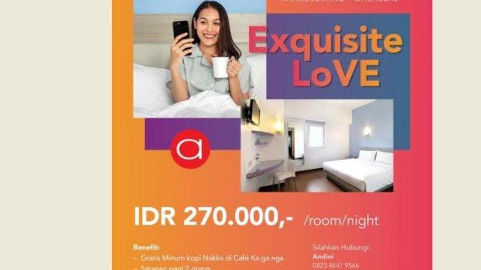 Usung Tema Exquisite Love, Ini Promo Kamar Spesial Amaris Hotel Panakkukang Makassar