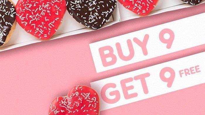 Promo Dunkin Donuts, Beli 9 Gratis 9, Hanya Sampai 19 Februari, Caranya?