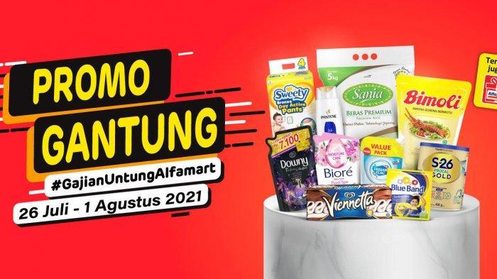Promo Gantung Alfamart, Minyak Goreng 2 Liter Rp 27.300