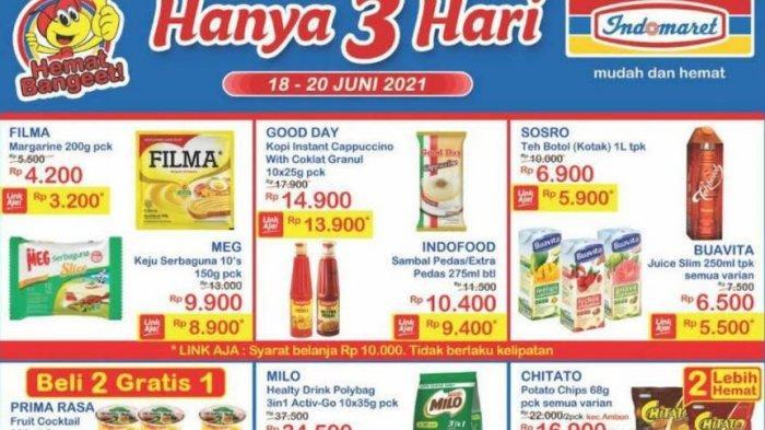 Katalog Indomaret Sabtu 19 Juni 2021, Promo Akhir Pekan Keju Serbaguna, Kopi Hingga Susu Segar