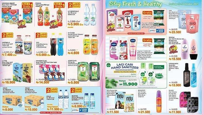 KATALOG Promo Indomaret Jumat 15 Oktober 2021: Beli Sabun Cair Gratis Gula, Shampo Murah Banget