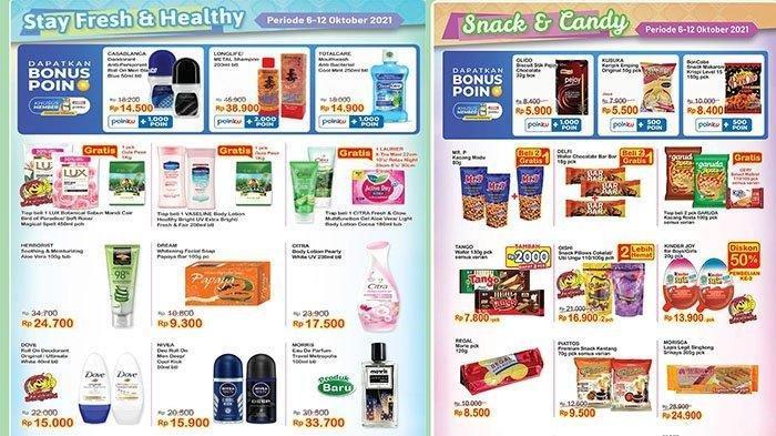 KATALOG Promo Indomaret Jumat 8 Oktober 2021: Belanja Super Hemat, Gratis Minuman hingga Gula Pasir