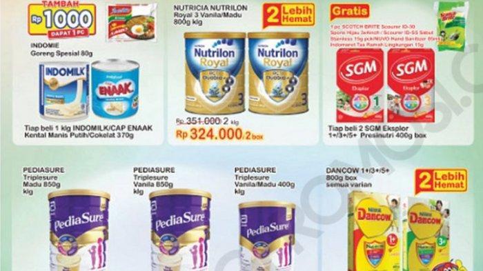KATALOG Promo Indomaret Kamis 7 Januari 2021: Minyak Goreng, Beras, Susu dan Popok Bayi Turun Harga