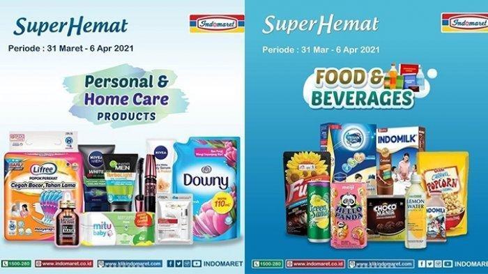 Promo Indomaret Rabu 31 Maret 2021: Bayar Rp 1000 Dapat Minyak Goreng, Susu dan Popok Harga Spesial
