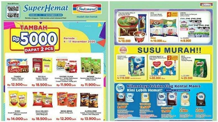 Katalog Promo Indomaret Senin 30 November 2020 Beli 2 Gratis 1 Diskon 20 Persen Hingga Susu Murah Tribun Timur