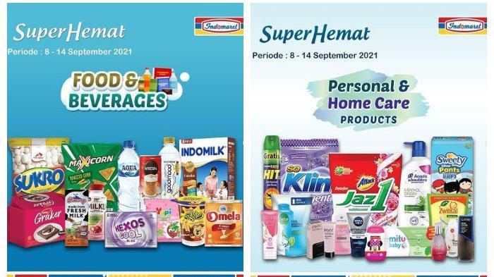 KATALOG Promo Indomaret Kamis 9 September 2021: Produk Super Hemat, Minyak Goreng Bisa Gratis
