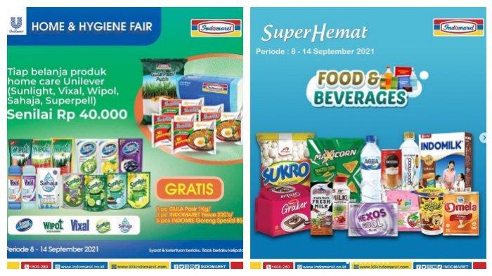 Promo Indomaret Selasa 14 September 2021, Beli Shampo Sunsilk Gratis Minyak Goreng 1 Liter