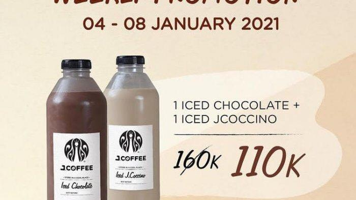 Promo J.Coffe 4-8 Januari 2021, Kopi Nikmat Harga Hemat