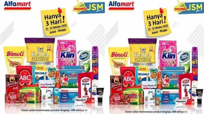 Katalog Promo Jsm Alfamart Jumat 23 Oktober 2020 Belanja Bahan Dapur Makanan Minuman Lebih Murah Tribun Timur