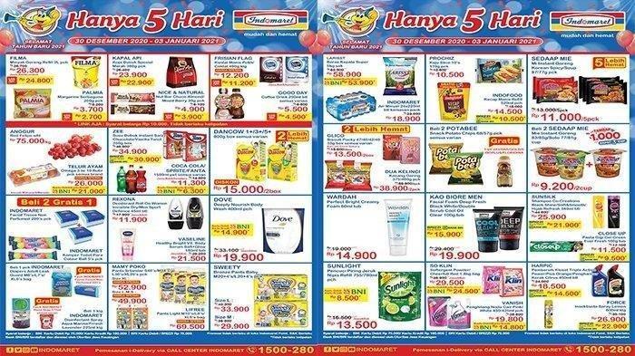 Katalog Promo JSM Indomaret Jumat 1 Januari 2021: Minyak Goreng, Snack hingga Susu Turun Harga