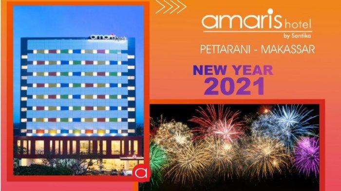 Paket Nginap Amaris Hotel Pettarani di Malam Tahun Baru Rp 600 Ribu