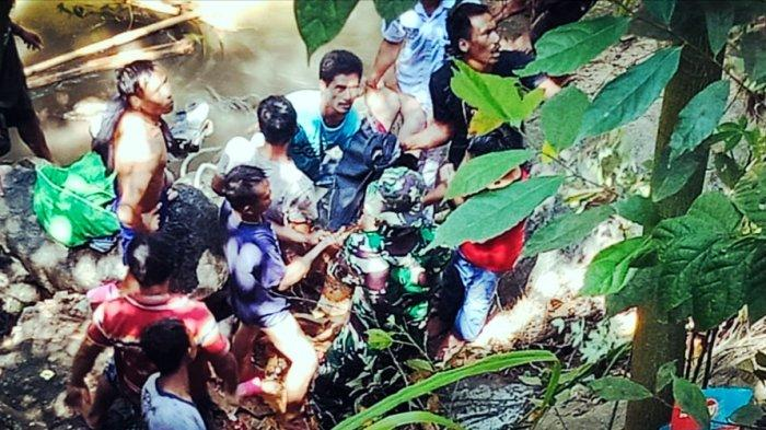 Jasad Pelajar di Toraja Ditemukan Setelah Enam Jam Pencarian