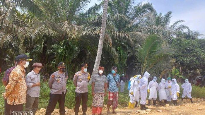 Polres Pasangkayu Amankan Pemakaman Pasien Covid-19 di Pedongga