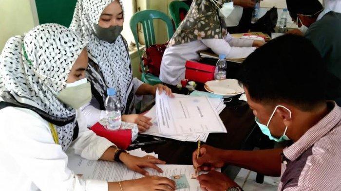 Dua Hari Jelang Kedatangan Jokowi, BPN Wajo Bayar Ganti Rugi 38 Bidang Lahan Bendungan Paselloreng
