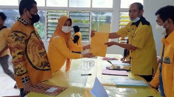 Andi Kartini Ottong Calon Tunggal Ketua Golkar Sinjai