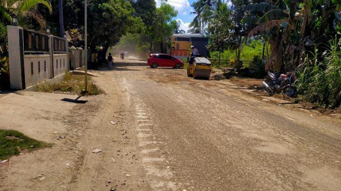 Akhirnya, Jalan Poros Barru-Soppeng Diperbaiki