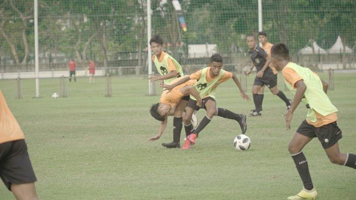 proses seleksi calon pemain timnas U-16 di Jakarta