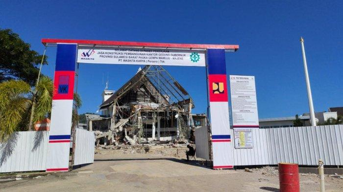 Ambruk Saat Gempa, Kantor Gubernur Sulbar Akan Dibangun Ulang Tiga Lantai