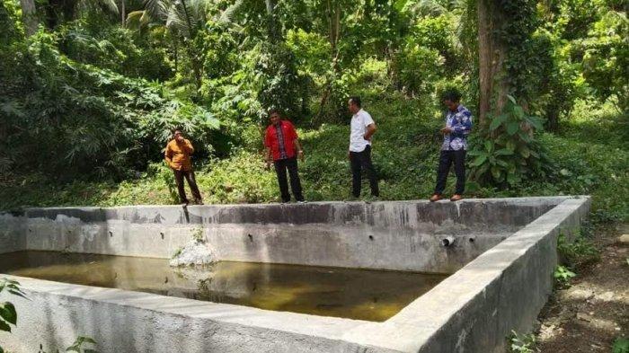 Belum Pernah Difungsikan, Proyek Kolam Air Minum di Kajang Bulukumba Sudah Rusak