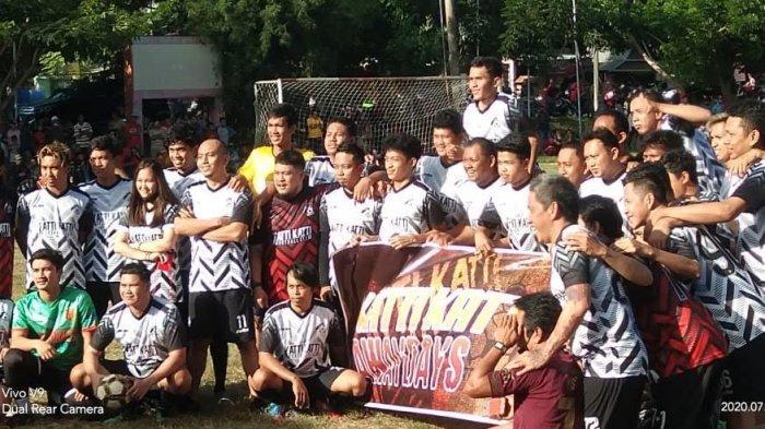 Sembilan Pemain Bintang Latih Warga Jeneponto Main Bola, Ada Pemain PSM, Persebaya dan Bali United