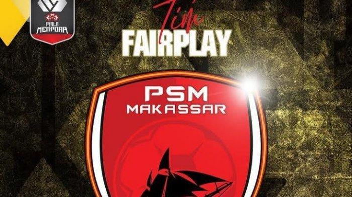 PSM Makassar Jadi Tim Fair Play di Piala Menpora 2021