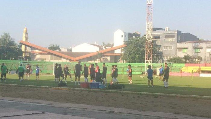 PSM Kembali Latihan di Mattoanging, Amido Balde dan Rivky Mokodompit Hadir