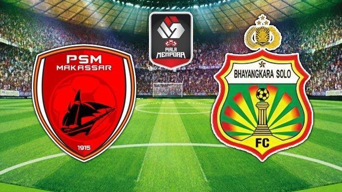 Daftar Susunan Pemain PSM vs Bhayangkara Solo FC Sore Ini, Patrich Wanggai Absen