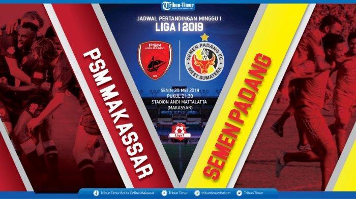 Live Ochannel Pukul 20.30 WIB, Berikut Prediksi Susunan Pemain PSM Makassar vs Semen Padang
