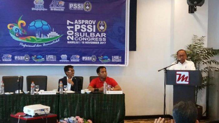 Bupati Mamuju Utara Terpilih Aklamasi Pimpin PSSI Sulbar, Begini Janjinya
