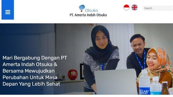 PT Amerta Indah Otsuka (Pocari Sweat) Buka Lowongan Kerja PT 15 Posisi, Terima Mulai Tamatan SMA SMK