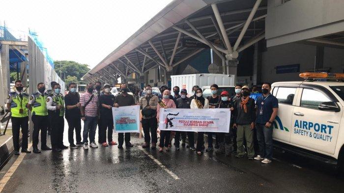 Angkasa Pura I SHIAM Kirimkan Bantuan Sembako dan Selimut untuk Korban Gempa Sulbar