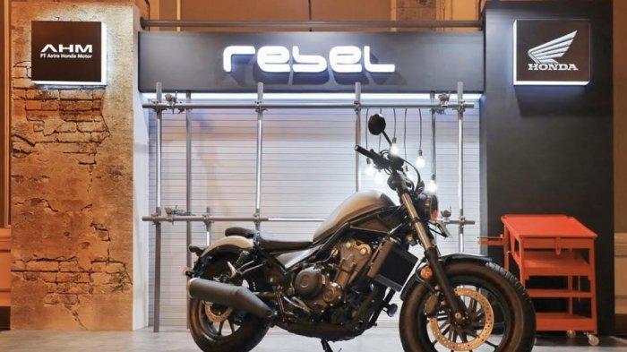 Honda Rebel, Tampil Semakin Ekspresif dan Maskulin