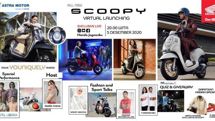Asmo Sulsel Bakal Gelar Virtual Launching All New Honda Scoopy Generasi Baru, Ada Asnawi Mangkualam