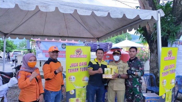 Support Relawan Covid-19, PT Bintang Toedjoe Bagikan Ekstra Joss di Palopo