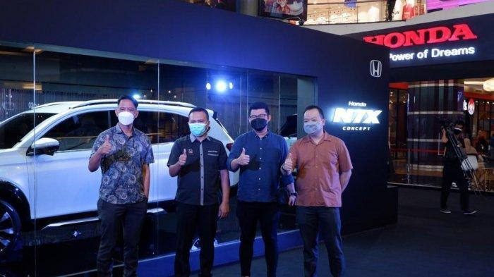 Mobil Honda N7X Mengaspal di Makassar