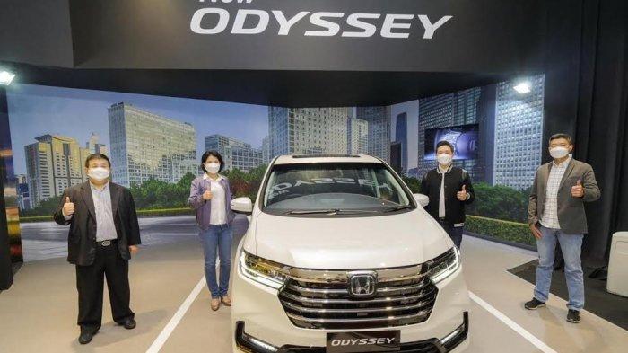 Semakin Mewah dan Aman, New Honda Odyssey Kini Dilengkapi Teknologi Honda Sensing