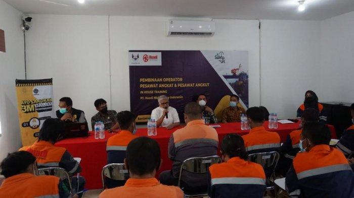 Perusahaan Nikel PT Huadi Bantaeng Gelar Pelatihan dan Sertifikasi Operator Bagi Karyawan