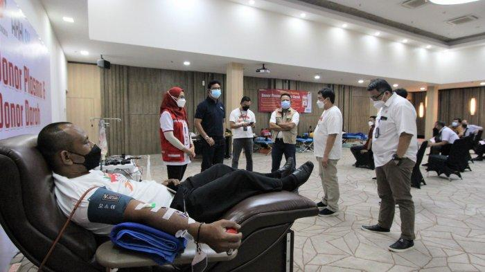Peringati HUT ke-76 Indonesia, PT Nindya Karya Gelar Aksi Donor Plasma Konvalesen dan Donor Darah