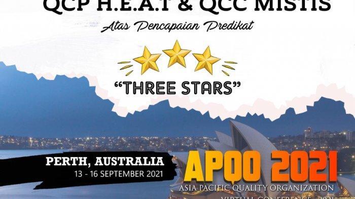 Berkat Inovasi QCP Heat & QCC Mistis, Semen Tonasa Raih Penghargaan Three Star AQPO di Australia