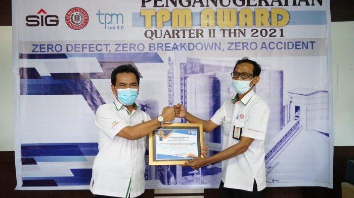 PT Semen Tonasa Laksanakan Gelaran TPM Award Q2 2021