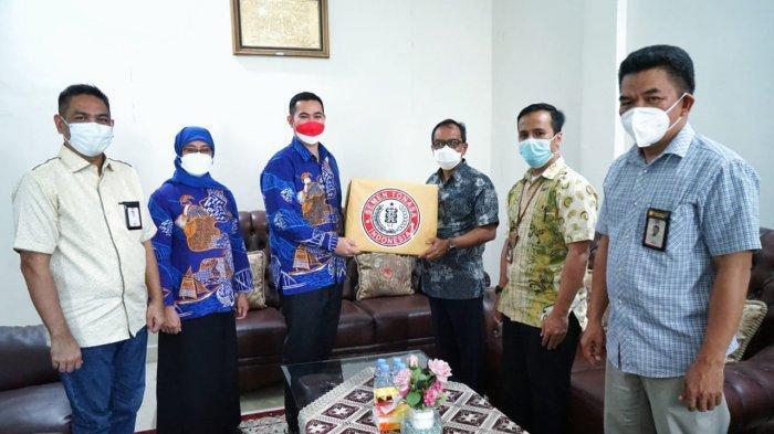 Dukung Vaksinasi di Kepulauan Pangkep, PT Semen Tonasa Bantu Oksigen Konsentrator