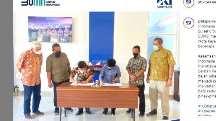 Yasir Mahmud Bawa BUMD Sulsel Jajaki Kerja Sama dengan PT IKI Makassar dan PT Semen Tonasa