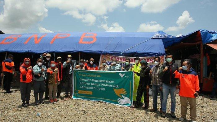 PT Vale Kirim Bantuan Kemanusiaan ke Korban Banjir di Luwu
